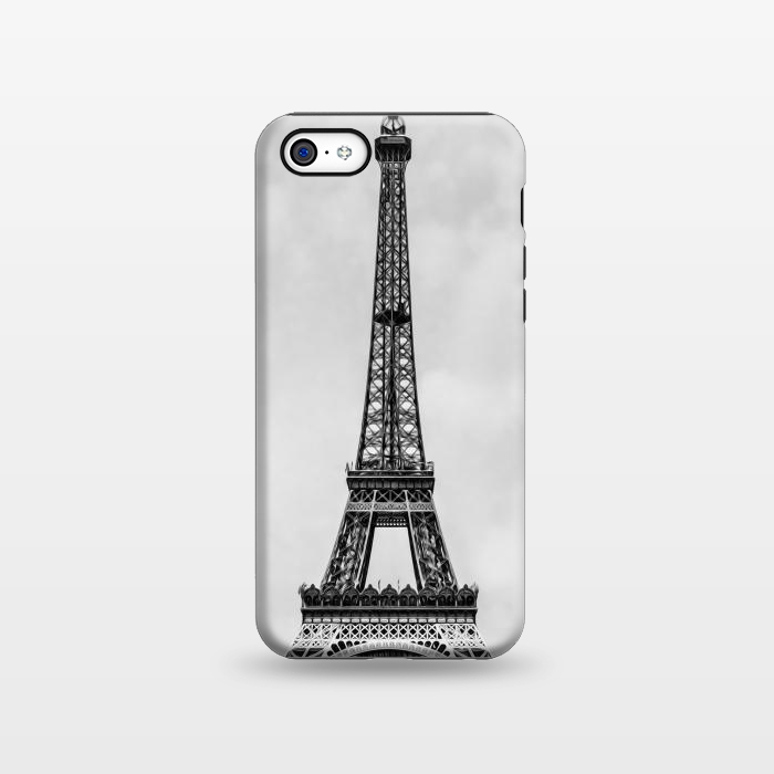 AC1338486, Phone Cases, iPhone 5C, StrongFit, Bruce Stanfield, Tour Eiffel Retro, Designers,