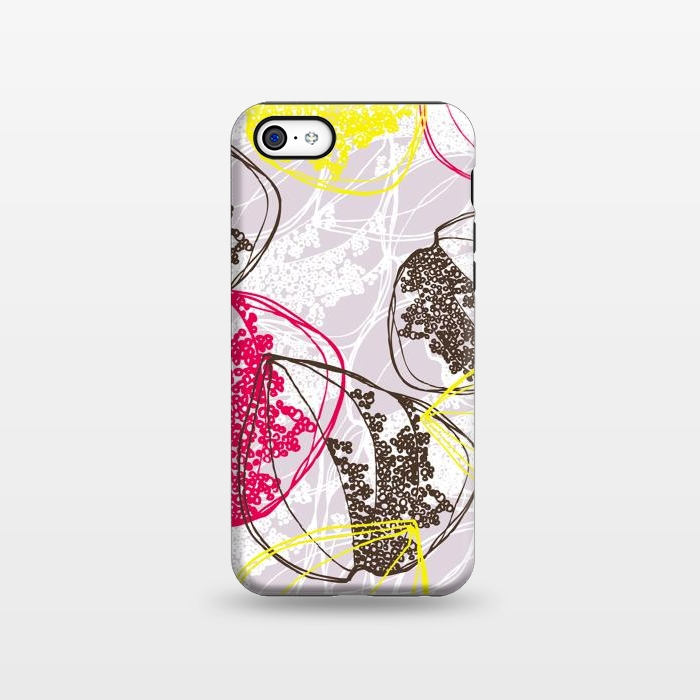 AC1338506, Phone Cases, iPhone 5C, StrongFit, Rachael Taylor, Organic Retro Leaves, Designers,