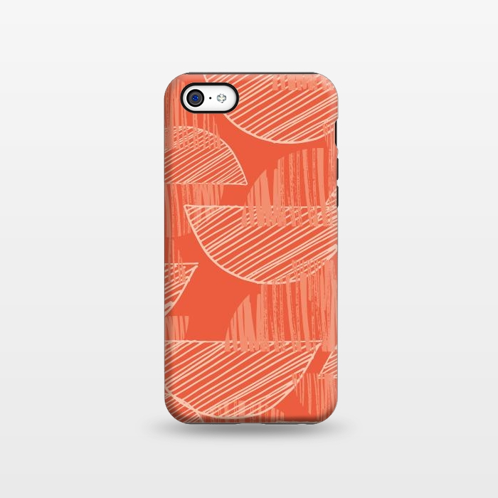 AC1338508, Phone Cases, iPhone 5C, StrongFit, Rachael Taylor, Orange Arcs, Designers,