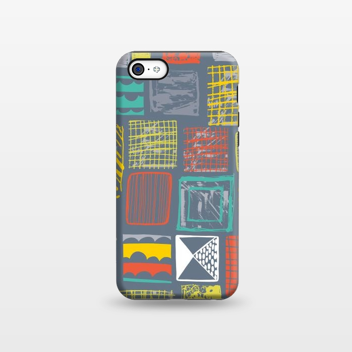AC1338550, Phone Cases, iPhone 5C, StrongFit, Rachael Taylor, Square Metropolis Leaves, Designers,