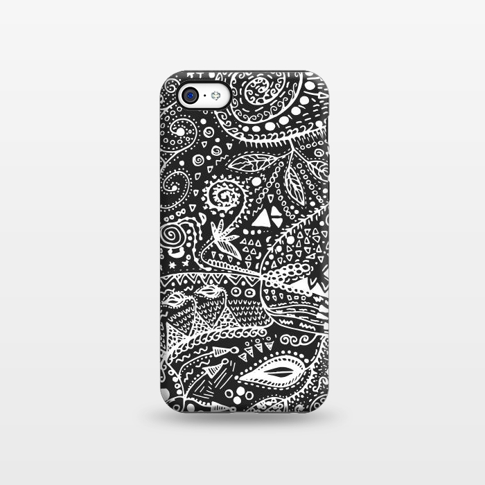 AC1338933, Phone Cases, iPhone 5C, StrongFit, Eleaxart, B&W Hand made, Designers,
