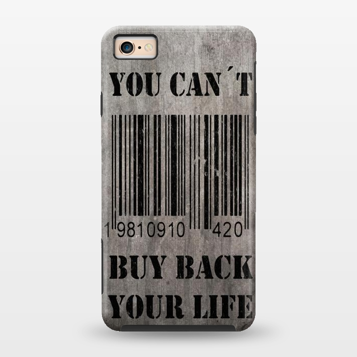 AC1343184, Phone Cases, iPhone 6/6s, StrongFit, Nicklas Gustafsson, You can´t buy back your life, Designers,