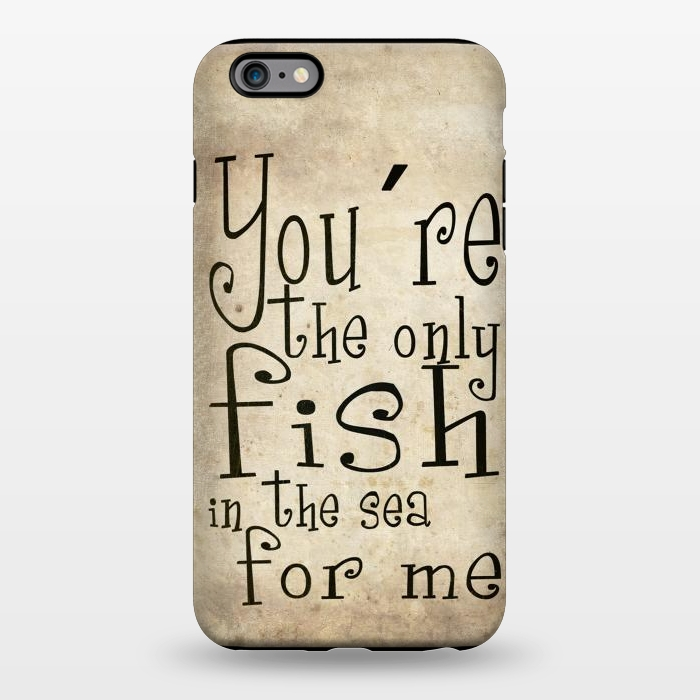 AC1344182, Phone Cases, iPhone 6/6s plus, StrongFit, Nicklas Gustafsson, You´re the only fish in the sea, Designers,