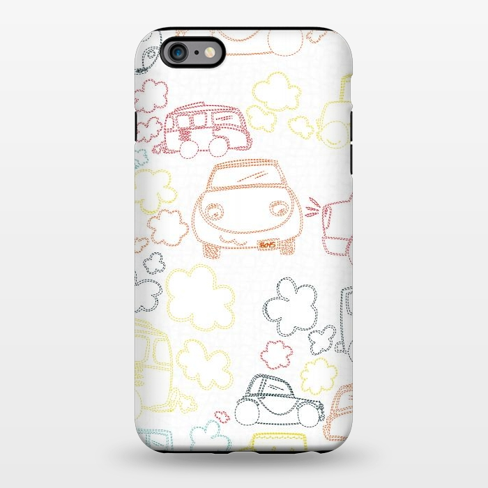 AC1344231, Phone Cases, iPhone 6/6s plus, StrongFit, MaJoBV, Stitched Cars, Designers,
