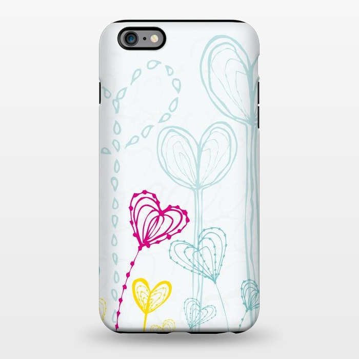 AC1344235, Phone Cases, iPhone 6/6s plus, StrongFit, MaJoBV, Love Garden  White, Designers,