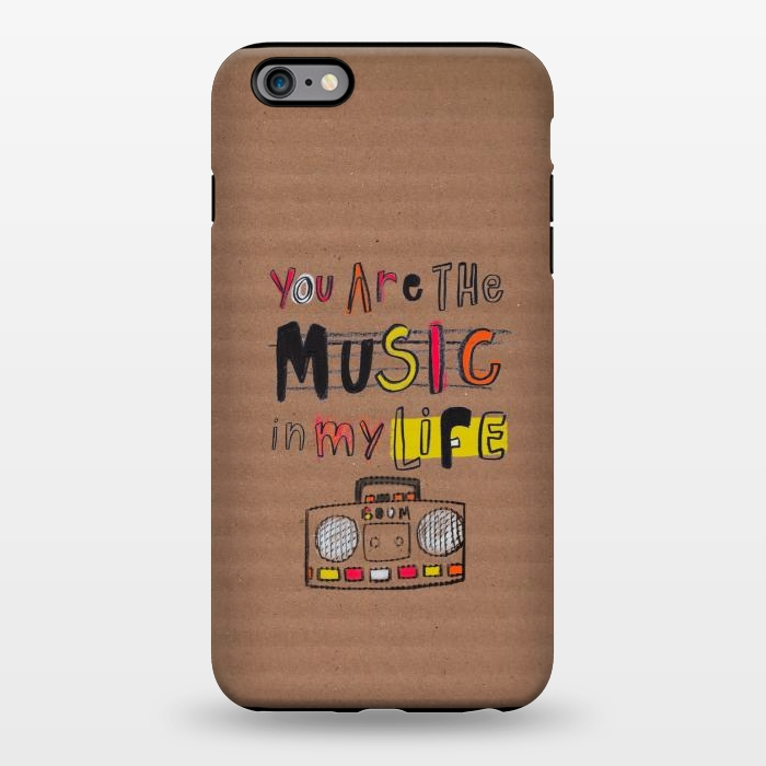 AC1344239, Phone Cases, iPhone 6/6s plus, StrongFit, MaJoBV, You are the Music, Designers,