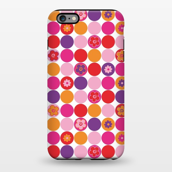 AC1344250, Phone Cases, iPhone 6/6s plus, StrongFit, Julia Grifol, Spring Circles, Designers,