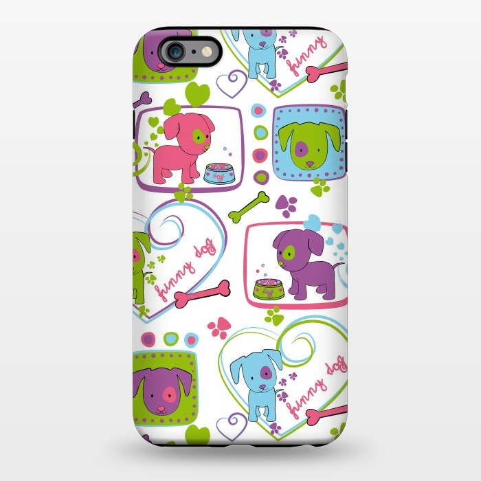 AC1344252, Phone Cases, iPhone 6/6s plus, StrongFit, Julia Grifol, My Loving Dogs, Designers,