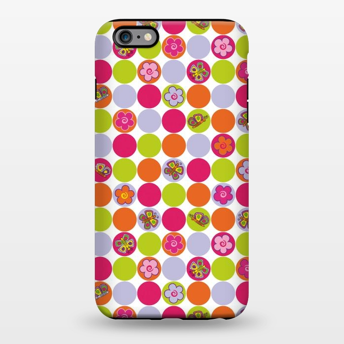 AC1344255, Phone Cases, iPhone 6/6s plus, StrongFit, Julia Grifol, My happpy Circles, Designers,