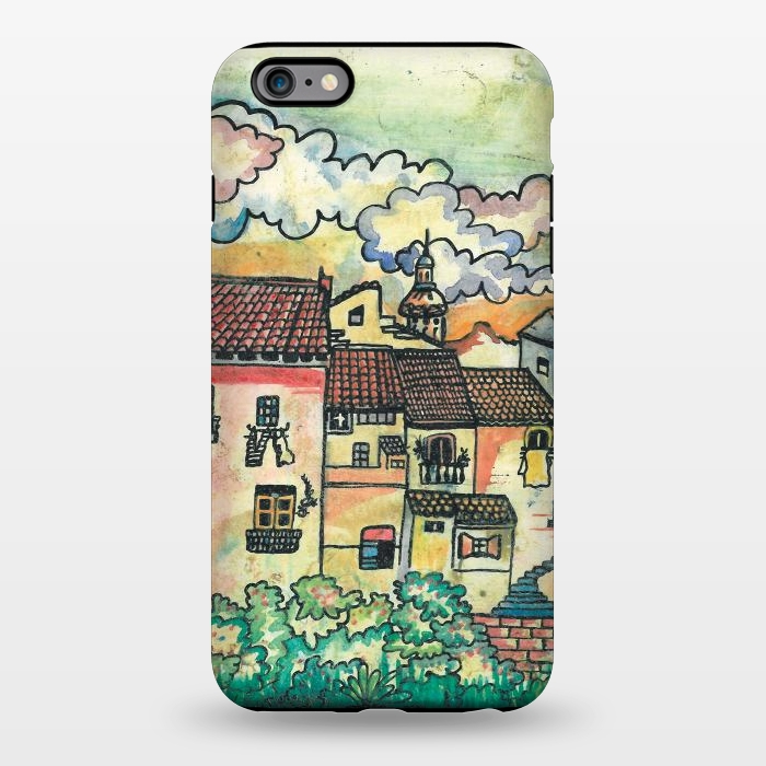 AC1344257, Phone Cases, iPhone 6/6s plus, StrongFit, Julia Grifol, A Spanish Village, Designers,