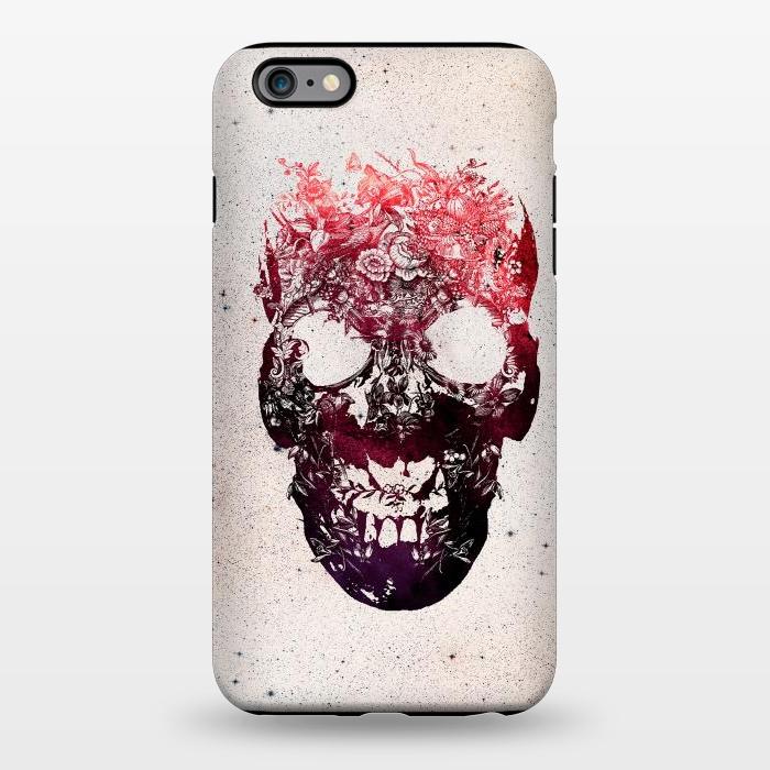 AC1344270, Phone Cases, iPhone 6/6s plus, StrongFit, Ali Gulec, Floral Skull, Designers,