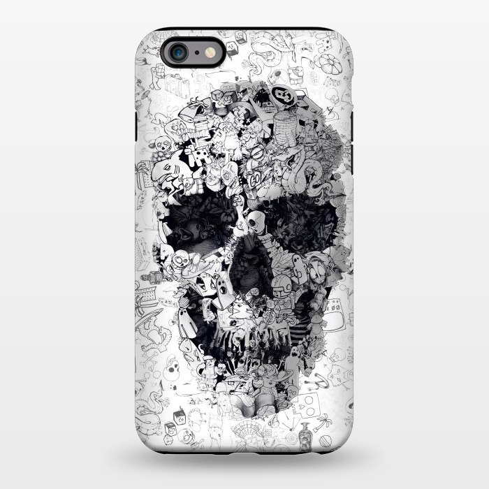 AC1344279, Phone Cases, iPhone 6/6s plus, StrongFit, Ali Gulec, Doodle Bw, Designers,