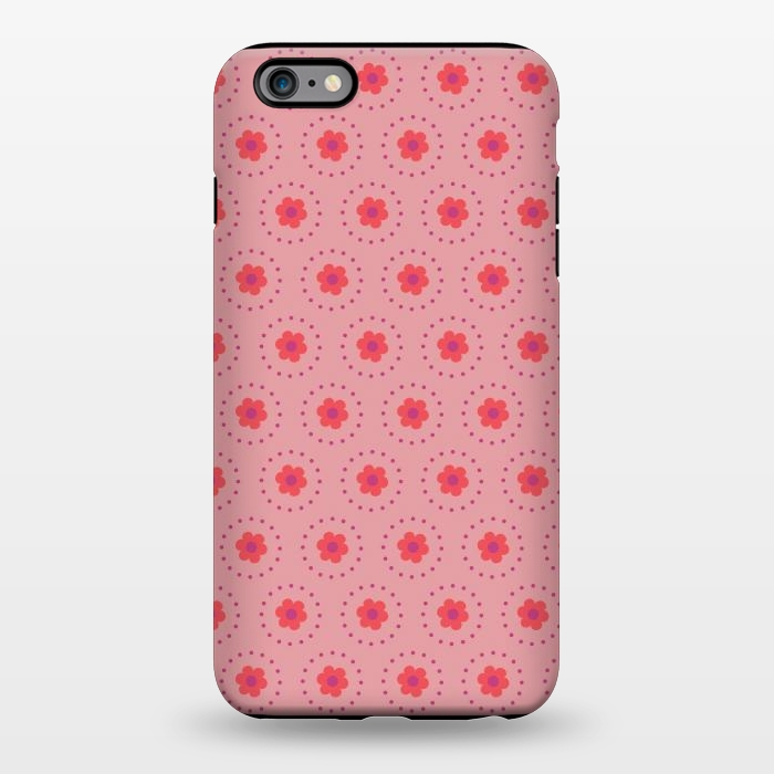 AC1344283, Phone Cases, iPhone 6/6s plus, StrongFit, Rosie Simons, Pink Circular Floral, Designers,