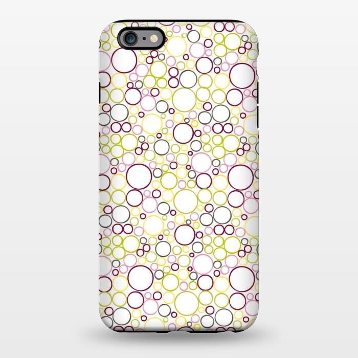 AC1344310, Phone Cases, iPhone 6/6s plus, StrongFit, Julie Hamilton, Circle Circles, Designers,