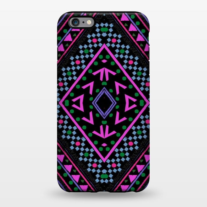 AC1344336, Phone Cases, iPhone 6/6s plus, StrongFit, Nika Martinez, Neon Pattern, Designers,