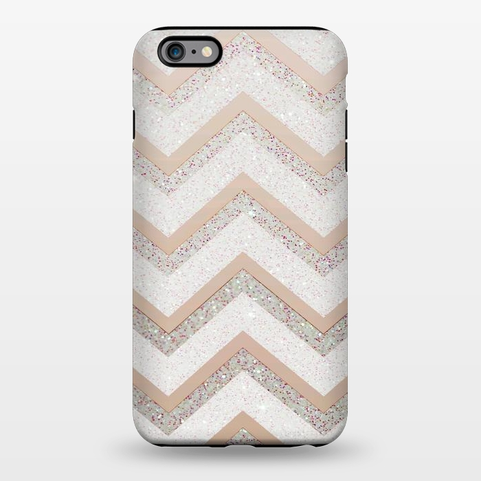 AC1344351, Phone Cases, iPhone 6/6s plus, StrongFit, Monika Strigel, Nude Chevron, Designers,