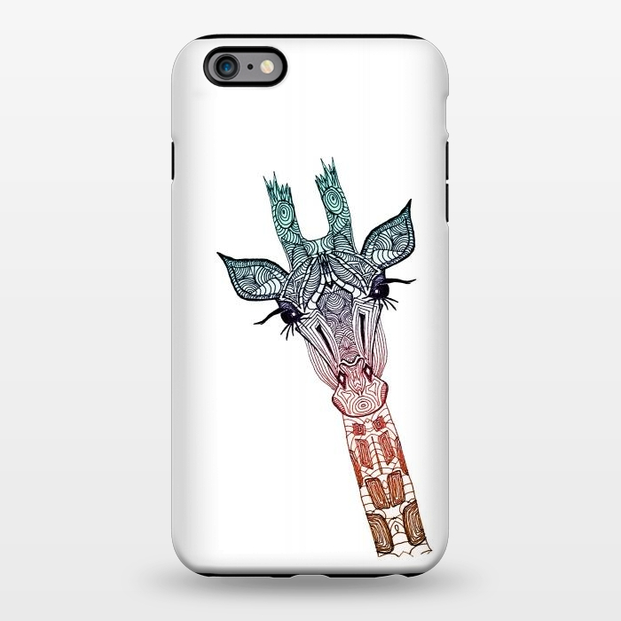 AC1344356, Phone Cases, iPhone 6/6s plus, StrongFit, Monika Strigel, Giraffe Teal, Designers,