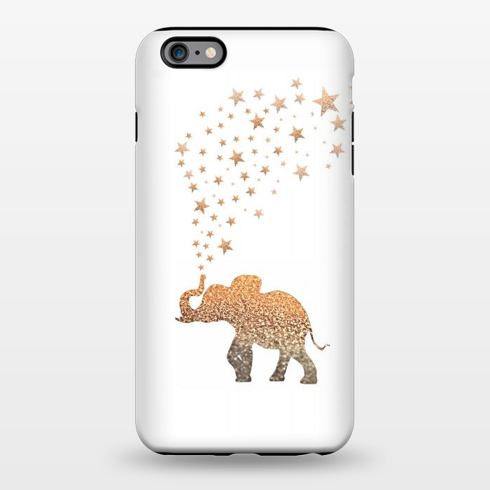 AC1344357, Phone Cases, iPhone 6/6s plus, StrongFit, Monika Strigel, Gatsby Elephant Chain, Designers,
