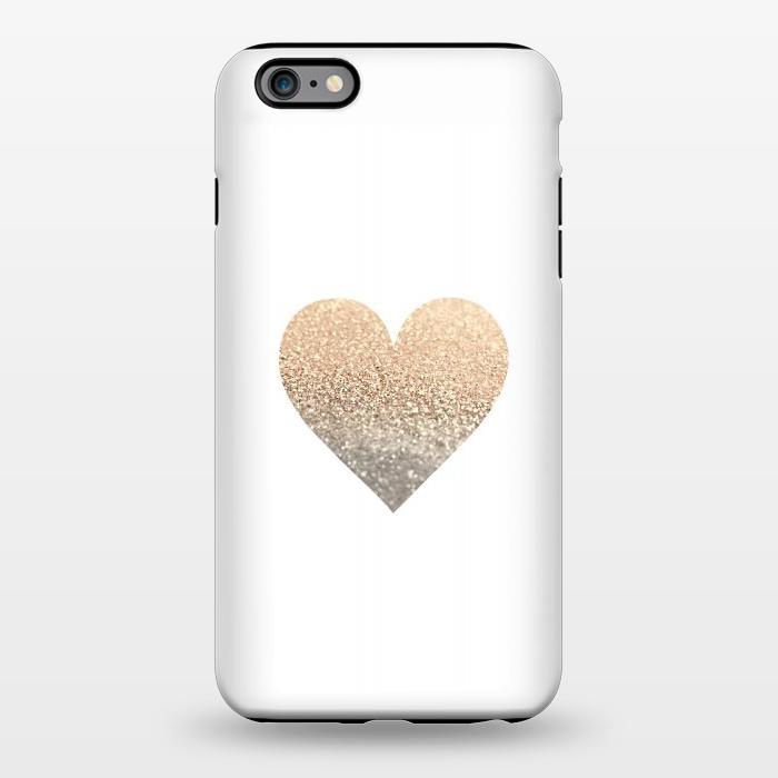 AC1344358, Phone Cases, iPhone 6/6s plus, StrongFit, Monika Strigel, Gatsby Gold Heart, Designers,