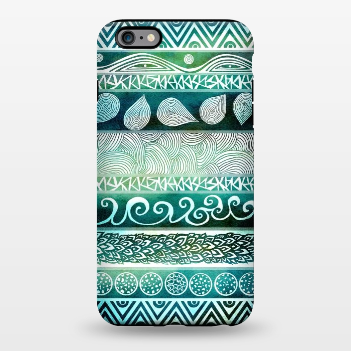 AC1344380, Phone Cases, iPhone 6/6s plus, StrongFit, Pom Graphic Design, Dreamy Tribal, Designers,