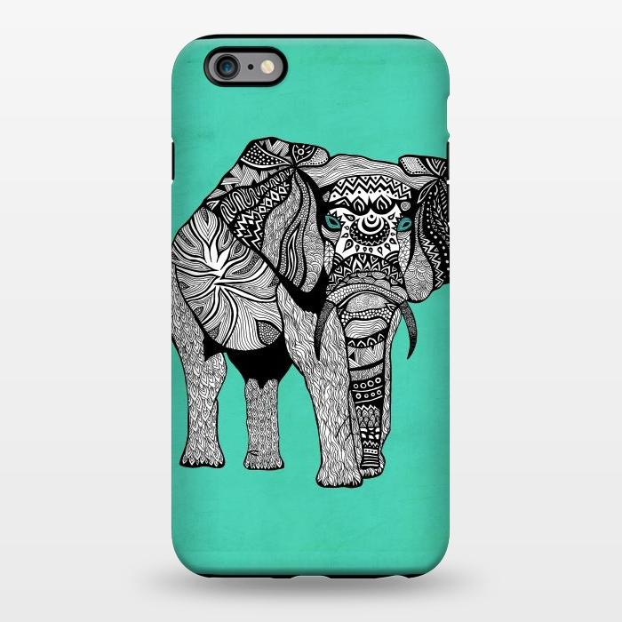 AC1344387, Phone Cases, iPhone 6/6s plus, StrongFit, Pom Graphic Design, Elephant of Namibia, Designers,