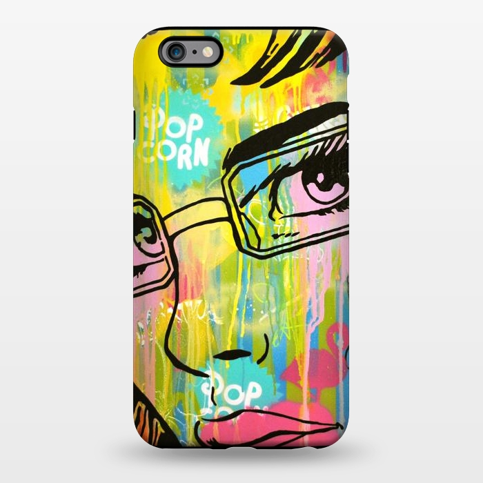 AC1344430, Phone Cases, iPhone 6/6s plus, StrongFit, Scott Hynd, It's all in the Glasses, Designers,
