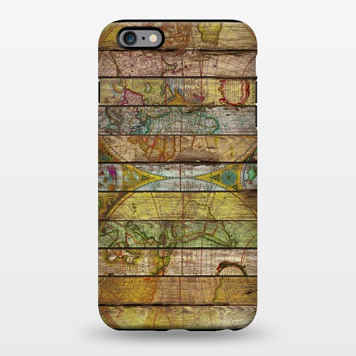 AC1344464, Phone Cases, iPhone 6/6s plus, StrongFit, Diego Tirigall, AROUND THE WORLD IN THIRTEEN MAPS, Designers,