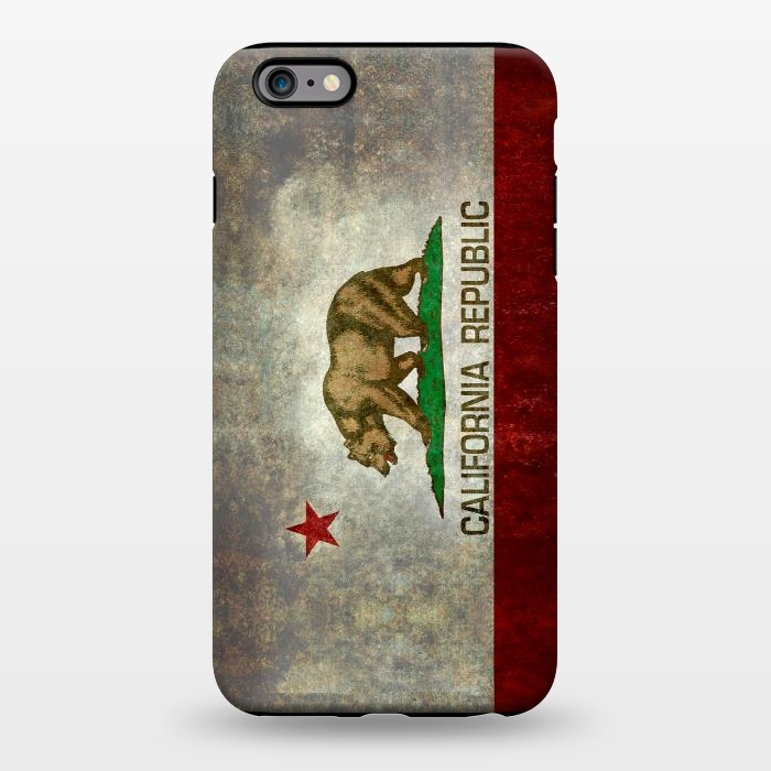 AC1344482, Phone Cases, iPhone 6/6s plus, StrongFit, Bruce Stanfield, California Republic State, Designers,