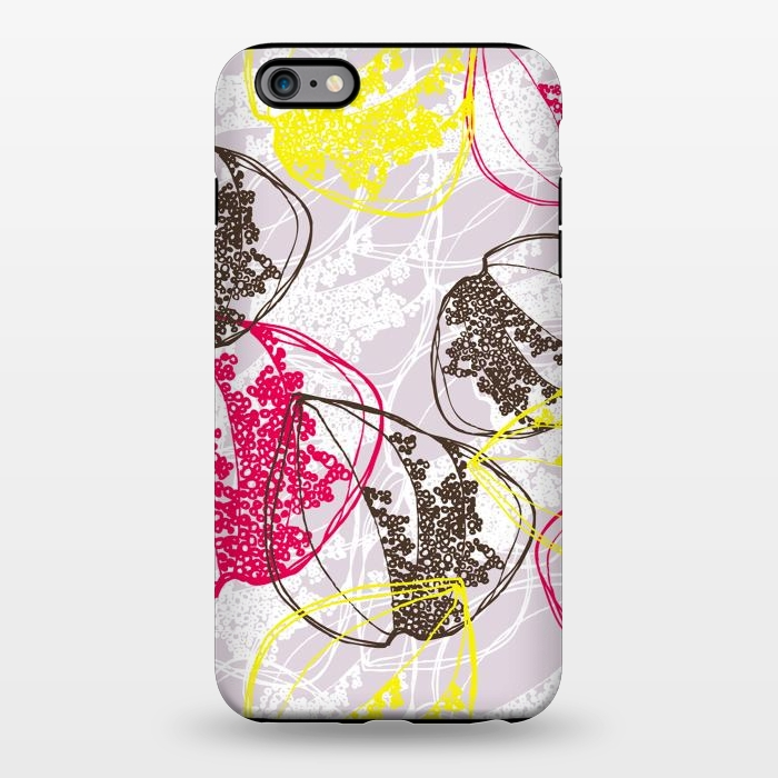 AC1344506, Phone Cases, iPhone 6/6s plus, StrongFit, Rachael Taylor, Organic Retro Leaves, Designers,