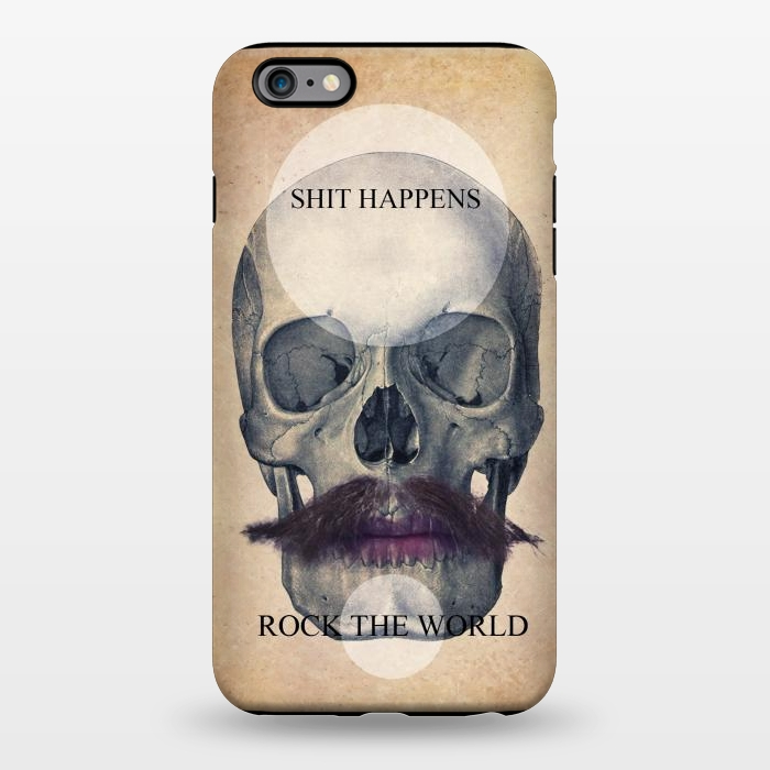 AC1344636, Phone Cases, iPhone 6/6s plus, StrongFit, Diego Tirigall, SKULL ROCK THE WORLD OK, Designers,