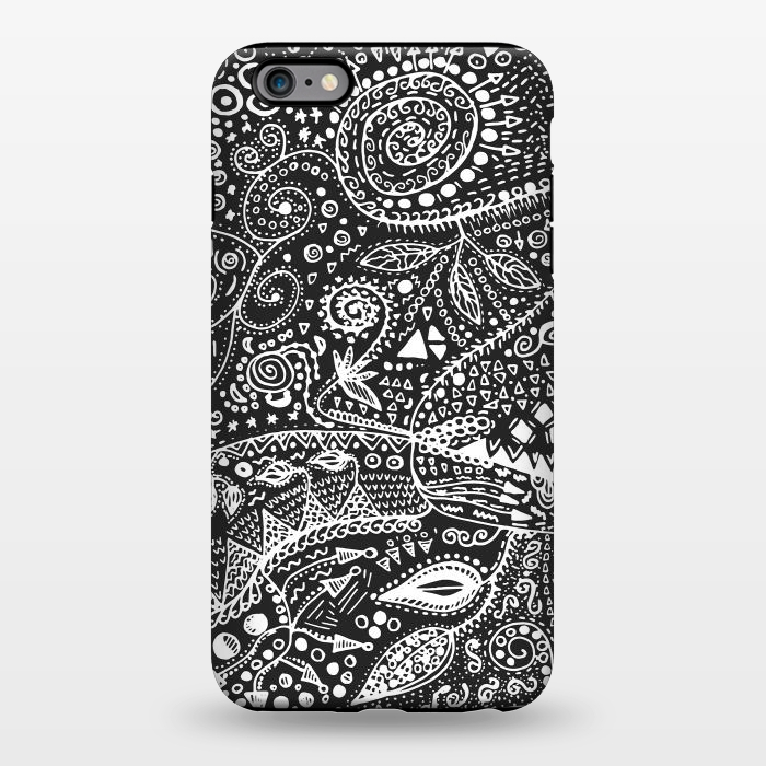 AC1344933, Phone Cases, iPhone 6/6s plus, StrongFit, Eleaxart, B&W Hand made, Designers,