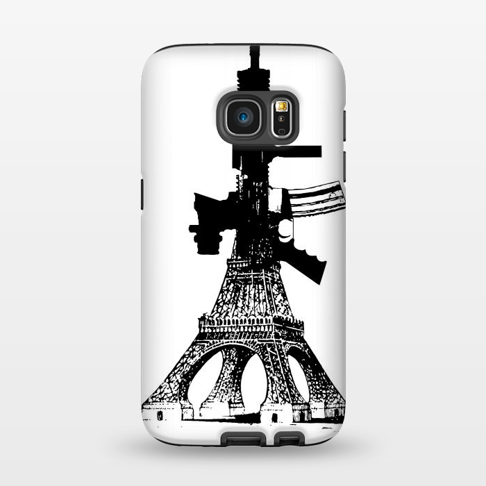 AC1345142, Phone Cases, Galaxy S7, StrongFit, Brandon Combs, Eiffel Power, Designers,