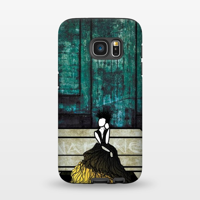 AC134515, Phone Cases, Galaxy S7, StrongFit, Amy Smith, Waiting, Designers,