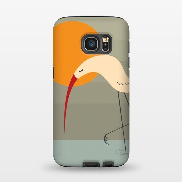 AC1345161, Phone Cases, Galaxy S7, StrongFit, Volkan Dalyan, Bird, Designers,