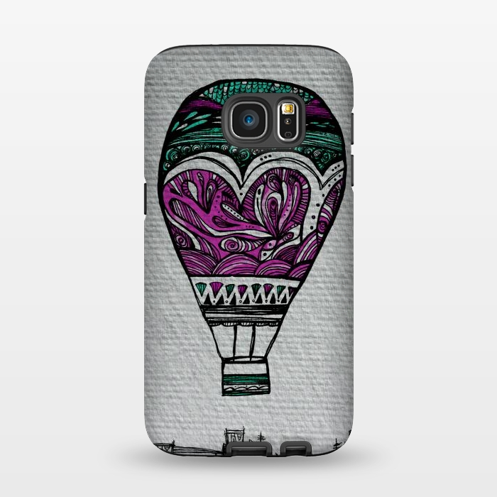 AC1345201, Phone Cases, Galaxy S7, StrongFit, Maria Teresa Canepa, Llevame Lejos, Designers,