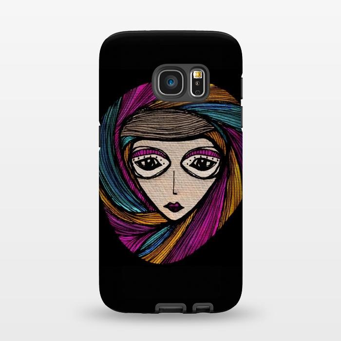 AC1345202, Phone Cases, Galaxy S7, StrongFit, Maria Teresa Canepa, Festin, Designers,