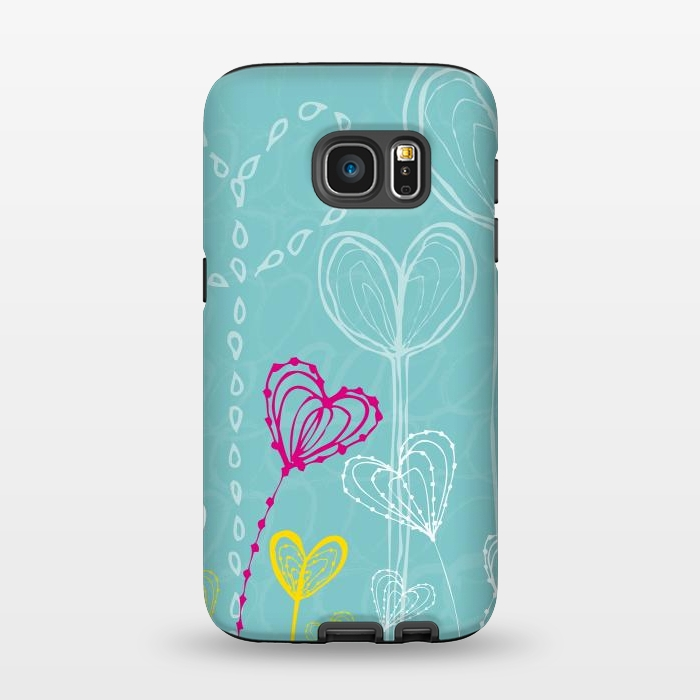 AC1345234, Phone Cases, Galaxy S7, StrongFit, MaJoBV, Love Garden, Designers,