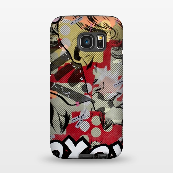 AC1345241, Phone Cases, Galaxy S7, StrongFit, Dan Monteavaro, Between Us, Designers,
