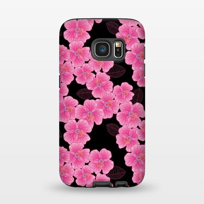 AC1345251, Phone Cases, Galaxy S7, StrongFit, Julia Grifol, Pinkon Black, Designers,