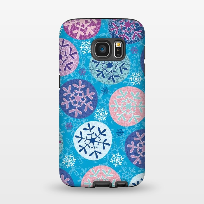 AC1345256, Phone Cases, Galaxy S7, StrongFit, Julia Grifol, Floral Wintel, Designers,