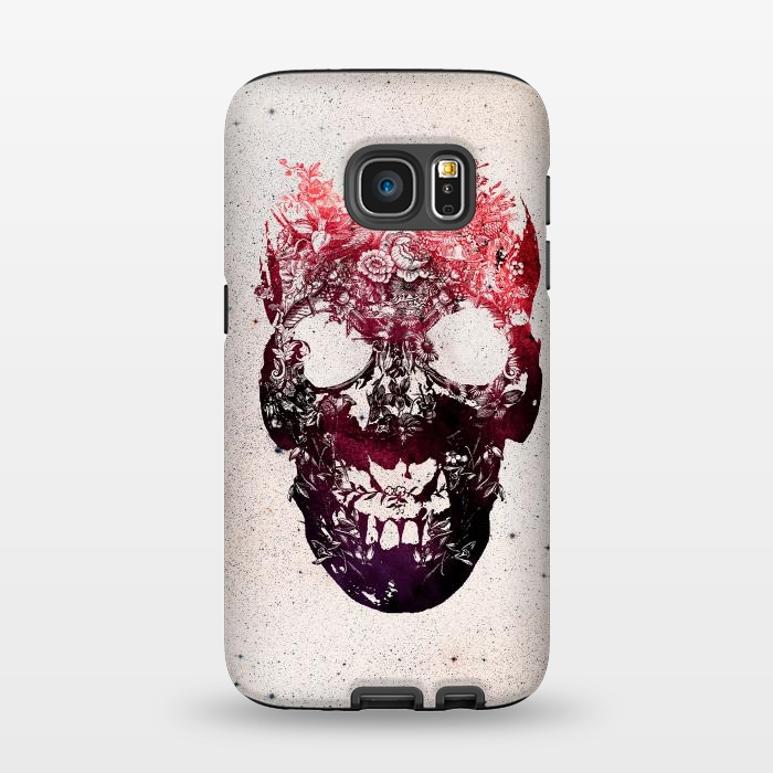 AC1345270, Phone Cases, Galaxy S7, StrongFit, Ali Gulec, Floral Skull, Designers,
