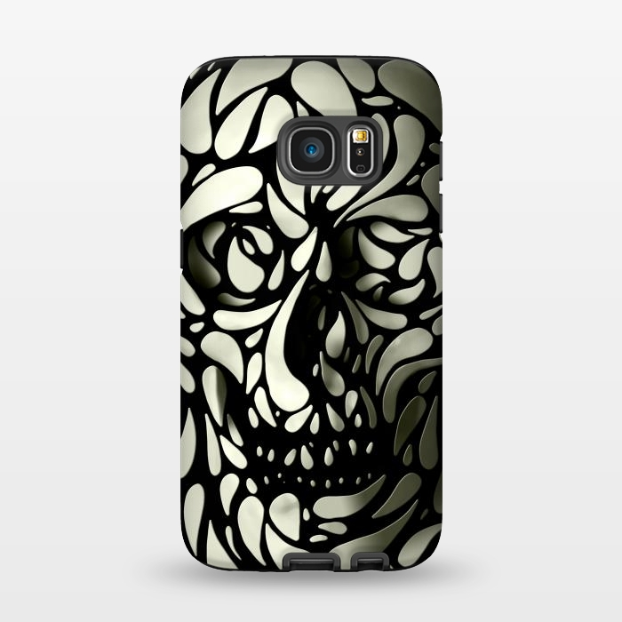 AC1345275, Phone Cases, Galaxy S7, StrongFit, Ali Gulec, Skull 4, Designers,
