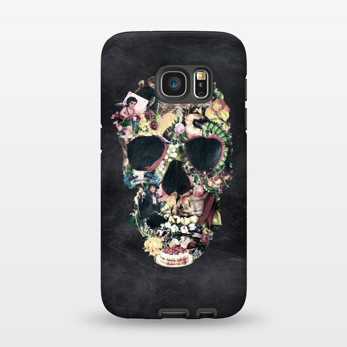 AC1345276, Phone Cases, Galaxy S7, StrongFit, Ali Gulec, Vintage Skull, Designers,