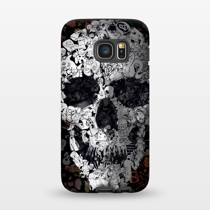 AC1345278, Phone Cases, Galaxy S7, StrongFit, Ali Gulec, Doodle, Designers,