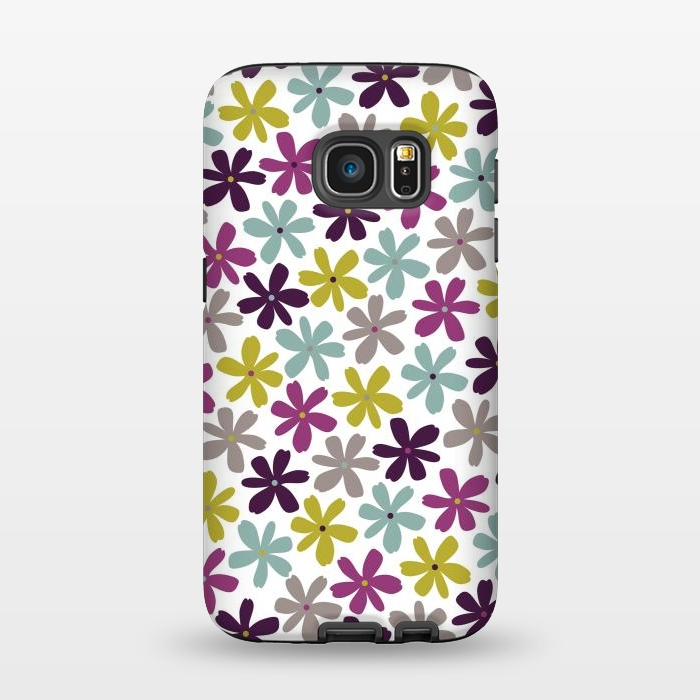 AC1345280, Phone Cases, Galaxy S7, StrongFit, Rosie Simons, Allium Ditsy, Designers,