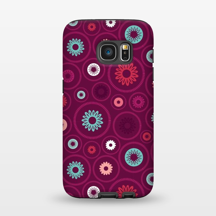AC1345288, Phone Cases, Galaxy S7, StrongFit, Rosie Simons, FloralCogs, Designers,