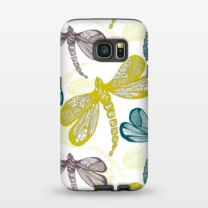 AC1345311, Phone Cases, Galaxy S7, StrongFit, Julie Hamilton, Dragon fly, Designers,