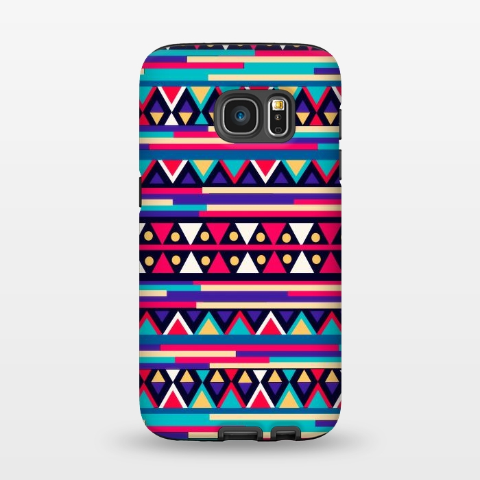 AC1345333, Phone Cases, Galaxy S7, StrongFit, Nika Martinez, Tribal Aztec, Designers,