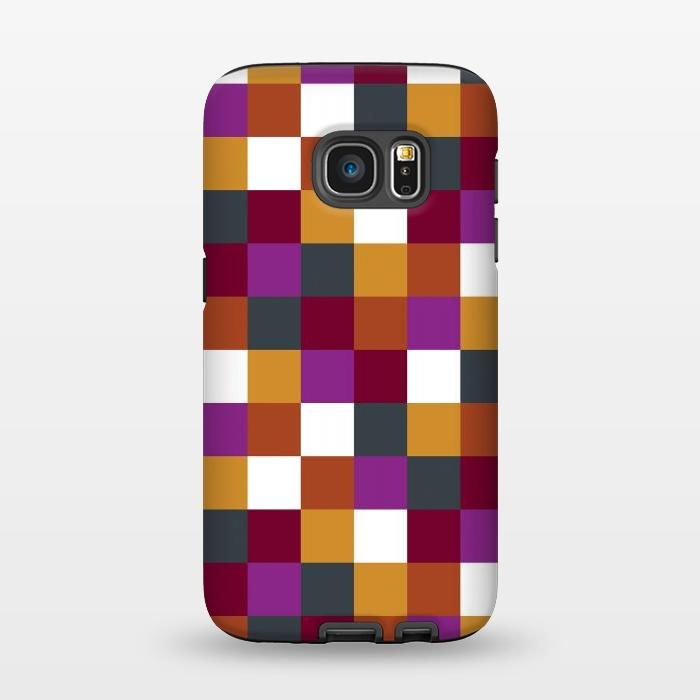 AC1345363, Phone Cases, Galaxy S7, StrongFit, Karen Harris, Sudoku Warm, Designers,