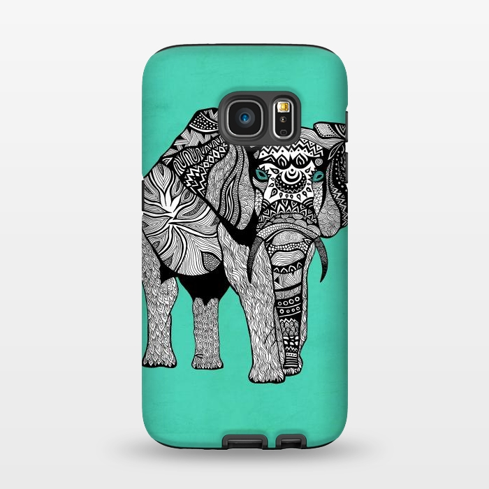 AC1345387, Phone Cases, Galaxy S7, StrongFit, Pom Graphic Design, Elephant of Namibia, Designers,